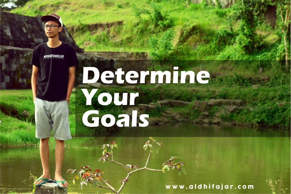 Determine your goals